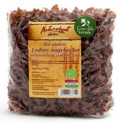 Bio alakor ősbúza tészta fodros nagykocka teljes őrlésű 250 g  Naturgold