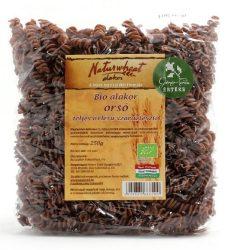 Bio alakor ősbúza tészta orsó teljes őrlésű 250 g  Naturgold