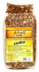 Bio puffasztott ősgabona csokis 160 g Naturgold