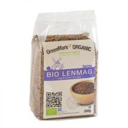 Bio Lenmag, barna 250 g GreenMark