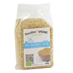 Bio Basmati barna rizs 500 g GreenMark
