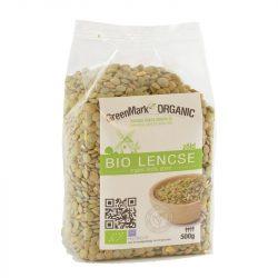 Bio Zöld lencse 500 g GreenMark