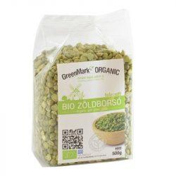 Bio Zöldborsó, felezett 500 g GreenMark