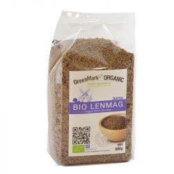 Bio Lenmag, barna 500 g GreenMark