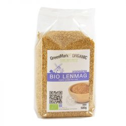 Bio Lenmag, aranysárga 500 g GreenMark