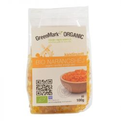 Bio Kandírozott Narancshéj 100 g GreenMark