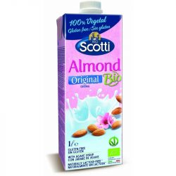 Bio laktóz- és gluténmentes mandulaital 1 l Riso Scotti