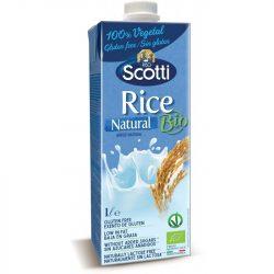 Bio laktóz- és gluténmentes rizsital natúr 1 l Riso Scotti