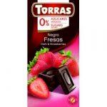 Epres étcsokoládé hozzáadott cukor nélkül 75 g Torras