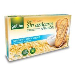 Diabetikus joghurtos reggeli szendvicskeksz 220 g  Gullon