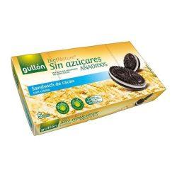 Diabetikus kakaós keksz krém töltelékkel 210 g Gullon