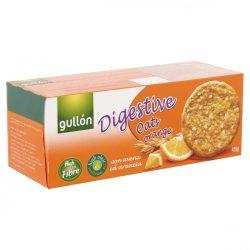 Gullon teljes kiőrlésű keksz zabbal, naranccsal 425 g Gullon