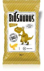 """Bio Kukoricás snack, sajtos """"BioSaurus Igor""""  50 g Biopont"""